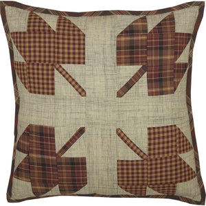 Abilene Harvest Leaf Patch Pillow 18x18 VHC Brands