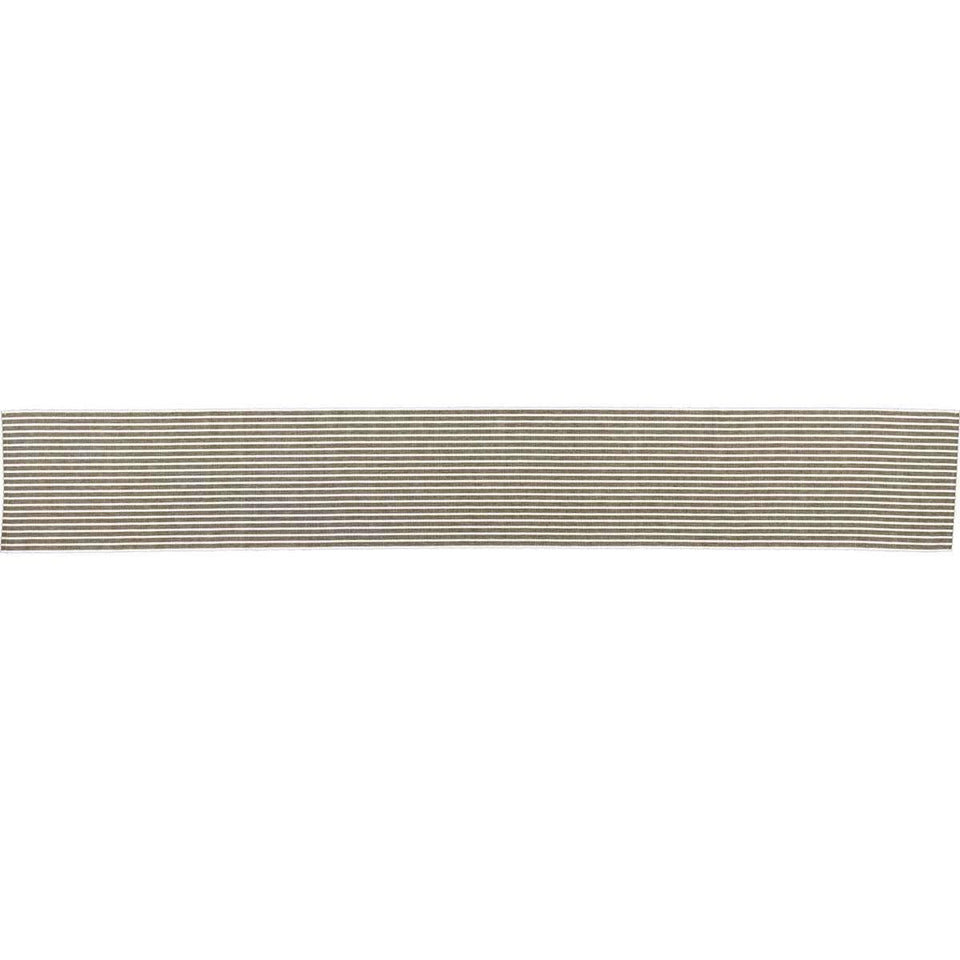 Harmony Olive Ribbed Runner 13x90 VHC Brands