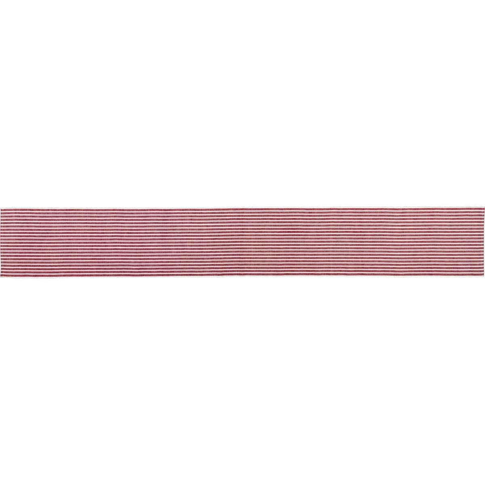 Harmony Red Ribbed Runner 13x90 VHC Brands