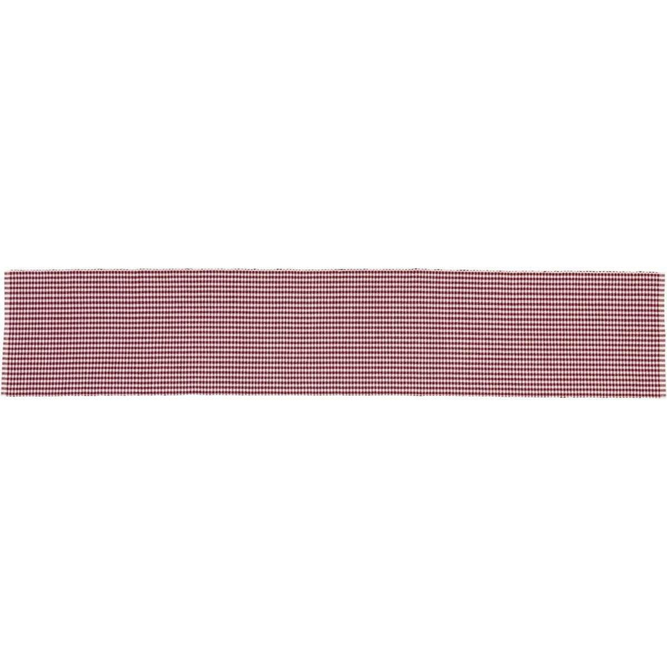 Tara Red Ribbed Runner 13x72 VHC Brands