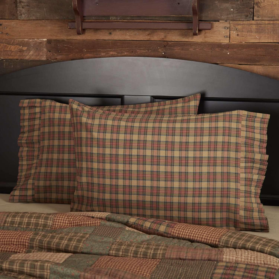 Crosswoods Standard Pillow Case Set of 2 21x30