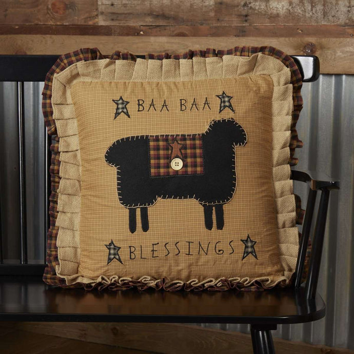 Heritage Farms Baa Baa Blessings Pillow 18