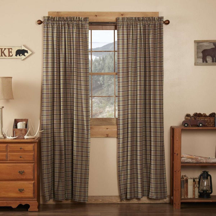 Wyatt Panel Country Style Curtain Set of 2 84