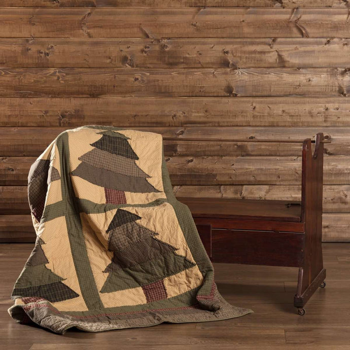 Sequoia Quilted Throw 60