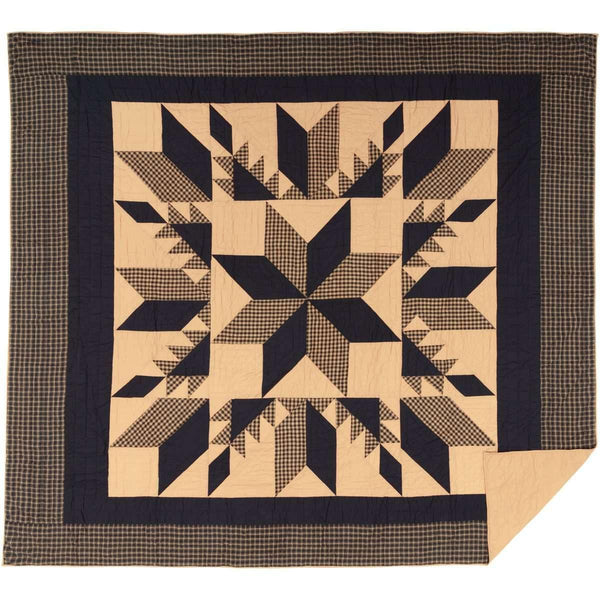 Dakota Star California King Quilt 130Wx115L VHC Brands online