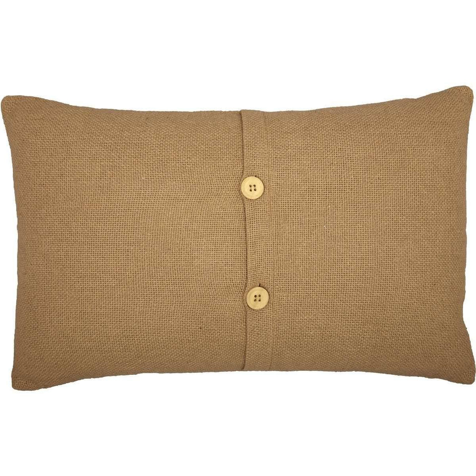 Heritage Farms Autumn Greetings Pillow 14x22 VHC Brands back