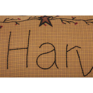 HERITAGE FARMS HARVEST BLESSINGS PILLOW 14X22 zoom