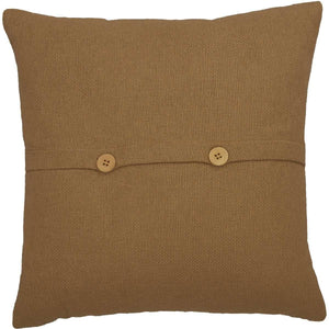 Heritage Farms Pumpkin and Crow Pillow 18x18 VHC Brands back