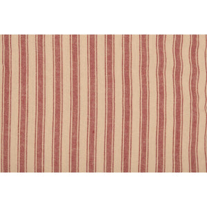 Sawyer Mill Red Ticking Stripe Stocking 12x20 VHC Brands