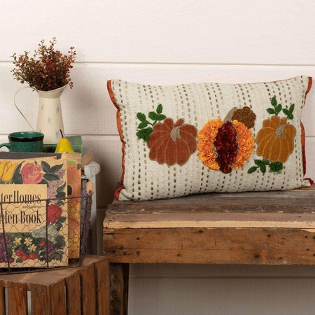 Autumn Pumpkin Patch Pillow 14x22 VHC Brands