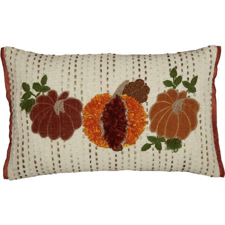 Autumn Pumpkin Patch Pillow 14x22 VHC Brands online