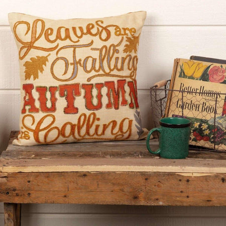Autumn Calling Pillow 18x18 VHC Brands