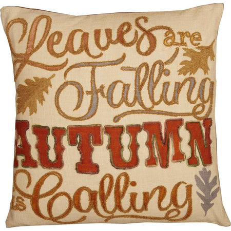 Autumn Calling Pillow 18x18 VHC Brands online