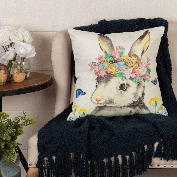 Easter Bunny Whimsy Pillow 18