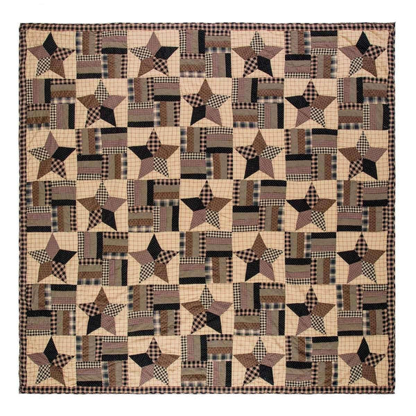 Bingham Star Queen Quilt 94Wx94L VHC Brands full