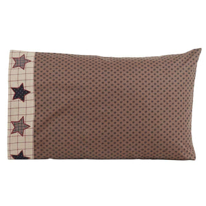 Bingham Star Standard Pillow Case Set of 2 21x30 VHC Brands