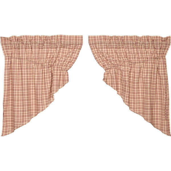 Tacoma Prairie Swag Curtain Set of 2 - The Fox Decor