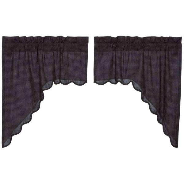 Arlington Swag Scalloped Set of 2-36x36x16