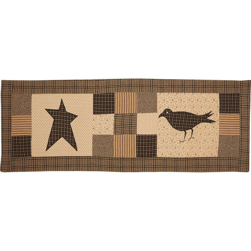 Kettle Grove Runner Crow and Star 13x36 VHC Brands