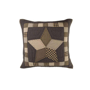 Farmhouse Star Euro Sham Quilted 26x26 VHC Brands