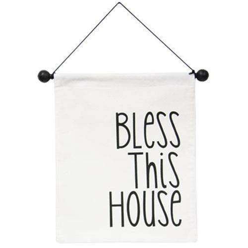 Bless This House Fabric Wall Hanging online