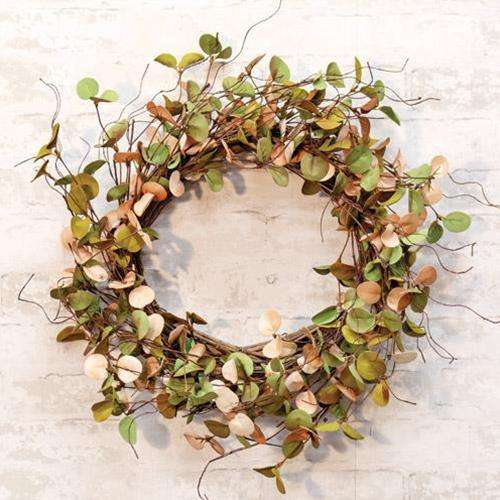 Antique Eucalyptus Wreath - The Fox Decor