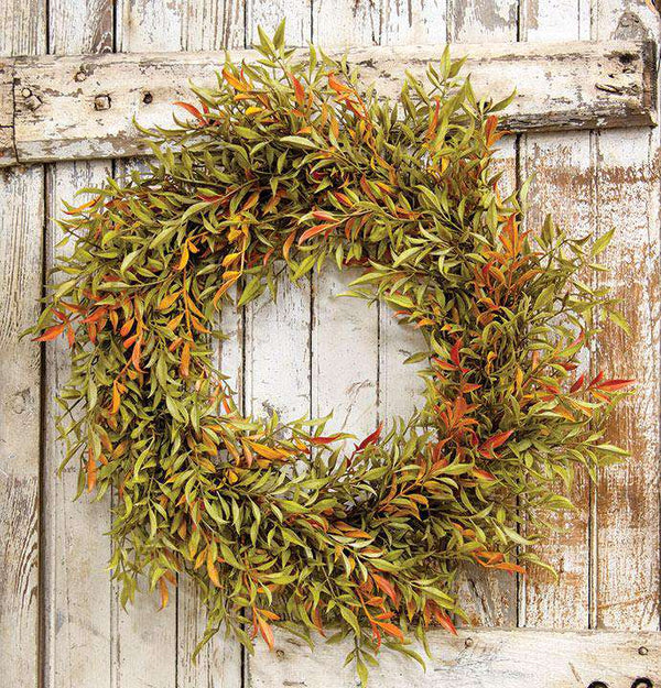 "Shade Smilax Wreath, 20"" - The Fox Decor"