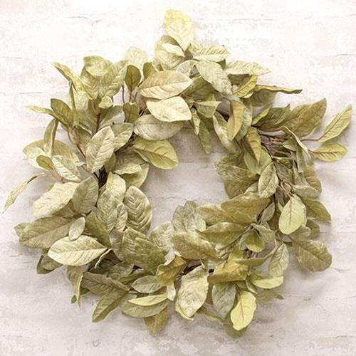 Halcyon Leaf Wreath, 24""