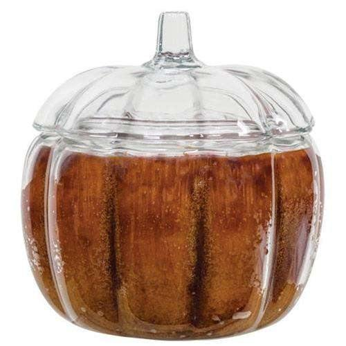 Buttered Maple Syrup Pumpkin Jar Candle