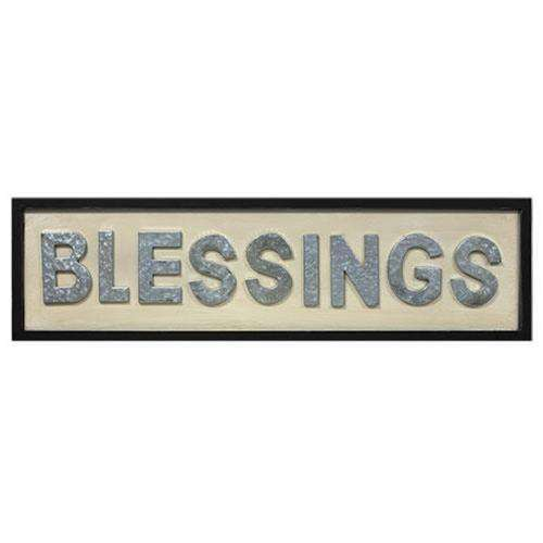 *Blessings Framed Sign - The Fox Decor