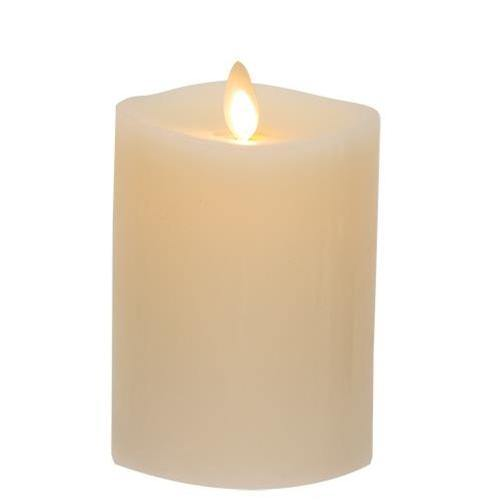 "Matchless Flame Candle, 3"" x 4.5"""