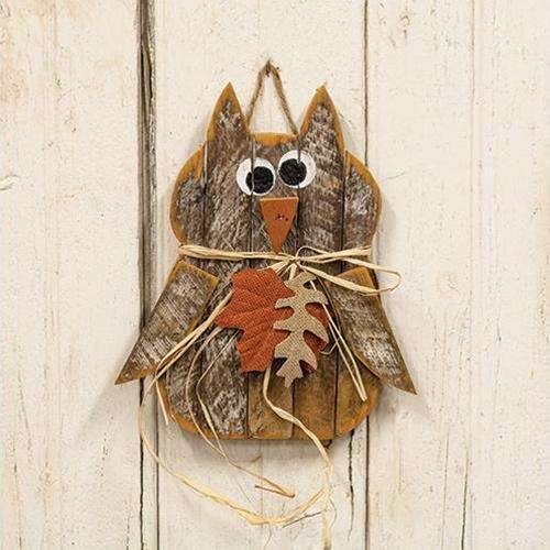 Hanging Fall Owl