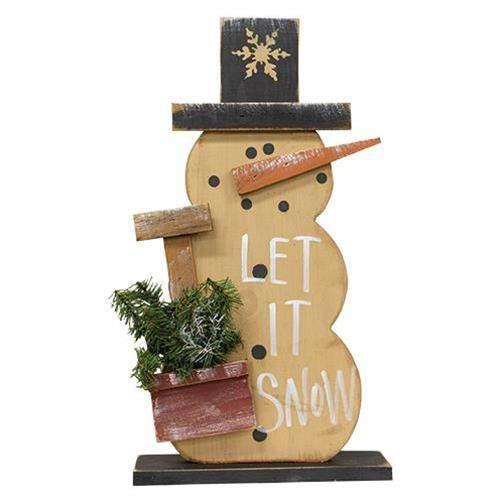 Let It Snowman w/Shovel On Base