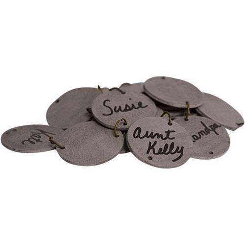 48/Pkgs, Replacement Birthday Calendar Tags - The Fox Decor
