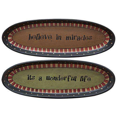 *Believe in Miracles Tray Asst.