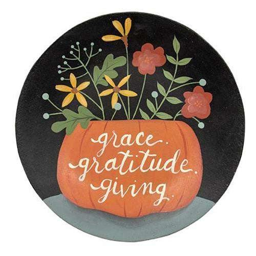 Grace, Gratitude and Giving Plate