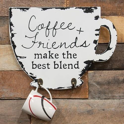 The Best Blend Coffee Cup Holder Sign