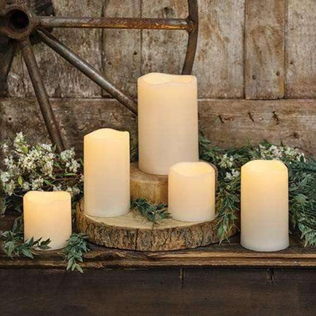 5/Set, LED Bisque Candles