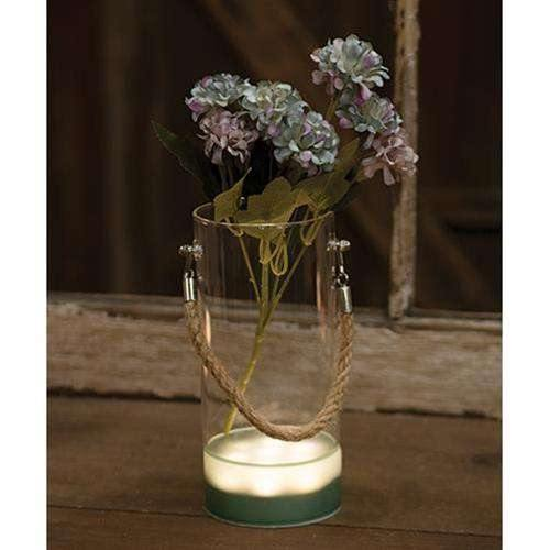 Lighted Glass Vase