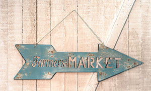 Farmers Market Arrow