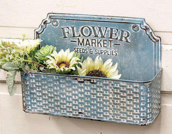Flower Market Metal Basket - The Fox Decor