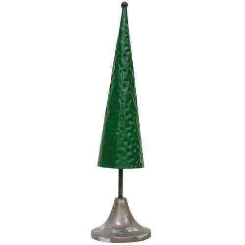 Green Metal Tree 15.5""