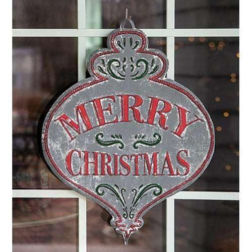Merry Christmas Vintage Bulb Sign