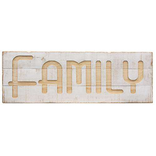*Family Wood Sign