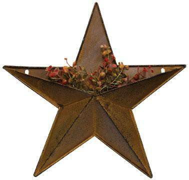 Rust/Black Pocket Star, 12""