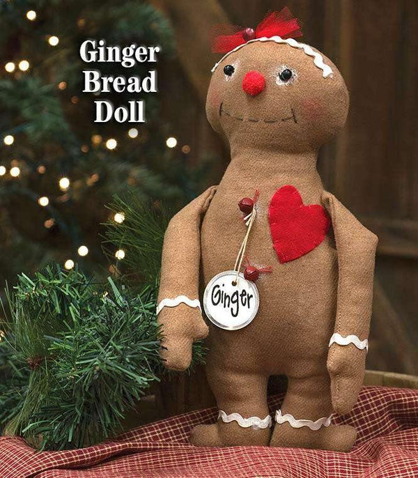 Ginger Gingerbread Doll