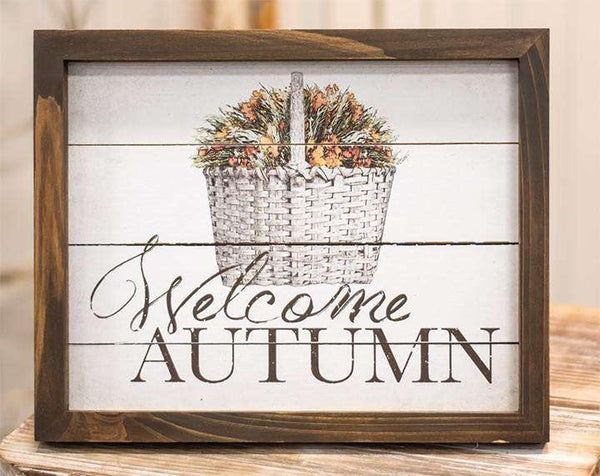 Welcome Autumn Easel