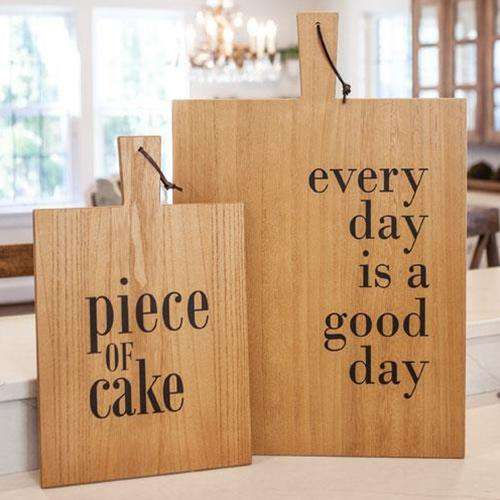 Good Day Cutting Board Wall Sign