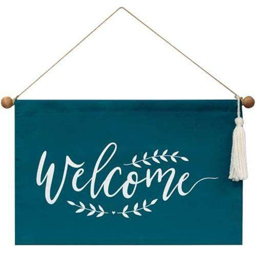 Welcome Fabric Wall Hanging online