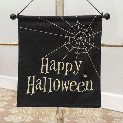 Happy Halloween Fabric Wall Hanging